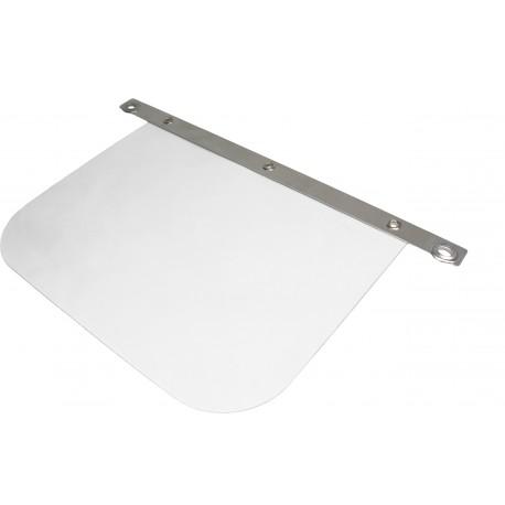 Gesichtsschutz (PC), glasklar - 350 x 300 mm